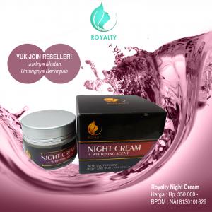 Cream Malam Royalty,Cara menangani kulit keriput,cCream Malam Royalty,cream pemutih wajah herbal,Cream perawatan wajah,Cream pemutih Wajah tradisional,produk pemutih wajah